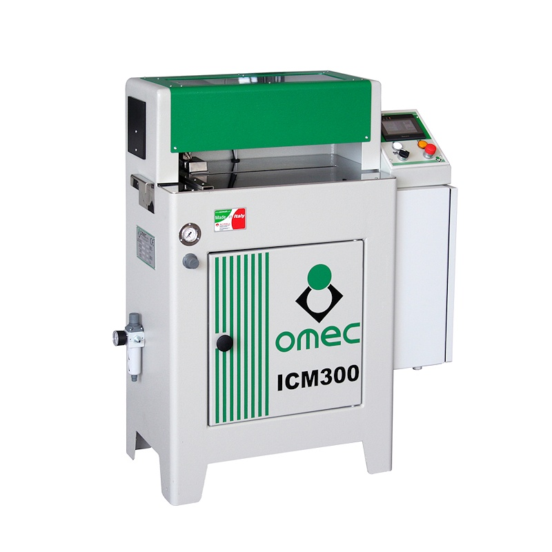 OMEC ICM 300 Semi-automatic gluing for drawers