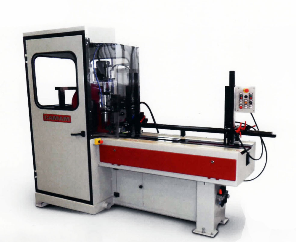 CAMAM TAC CNX 1U 3000 ANGULAR CUTTING & DRILLING MACHINE WITH AUTOMATIC LOADER