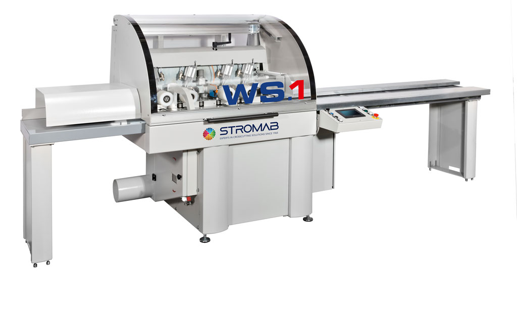 STROMAB WS.1 Through feed cross-cut saw