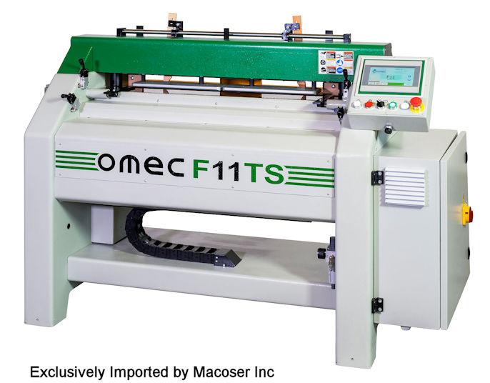 Automatic Dovetail Machine Omec F11 TS